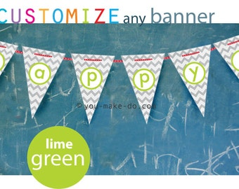 1st birthday boy banner lime baby shower boy garland lime party decorations lime birthday banner lime banner lime green party printables