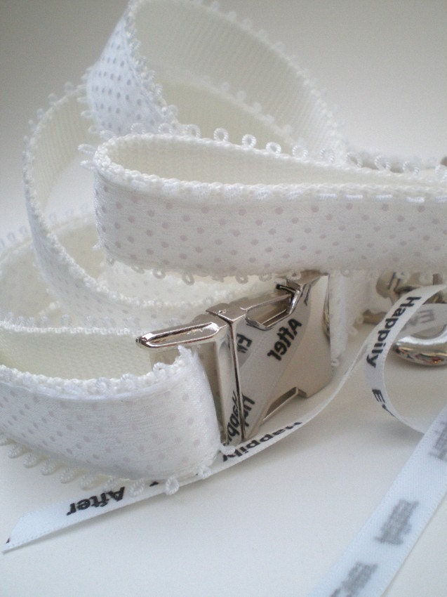 wedding dog collar and leash ensemble wedding collar set