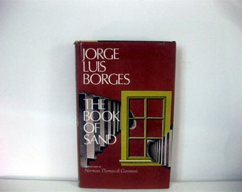 The Book of Sand, Jorge Luis Borges, 1st Edition 1977