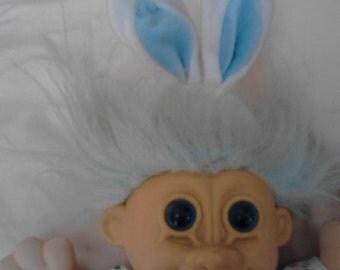 "Vintage Russ  ""Troll Kidz""  Easter Troll Doll, "" Bugsy""  ECS"