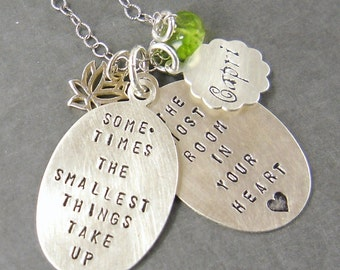Custom Personalized Quote Necklace Poetry Book Necklace Custom Quote Necklace Your Quote Word Necklace Write your own story
