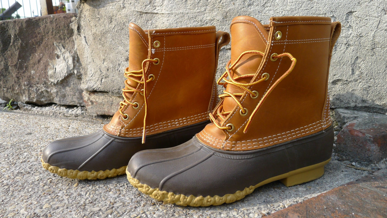 Men S Size 9 Vintage Ll Bean Gore Tex Rain Boots Duck
