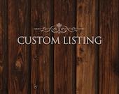 Custom Listing - Kim, Monogram wedding thank you cards, printed items