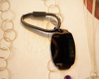 1 Vintage Black Oxide Plated I. D. Key Ring