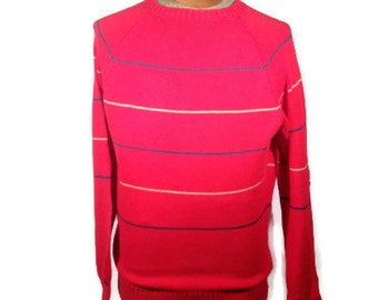 Vintage Sweater, Retro Sweater, Striped Sweater // 80s Sweater, 90s Sweater, 80s clothes, 90s clothes