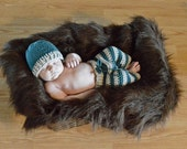 Cuddly Colt Set (Hat- All Sizes, Pants- Newborn to 2T) Instant Download