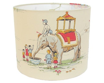 Lamp Shade Lampshade Circus Circus by Alexander Henry Nursery Children Made to Order