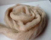Flesh Romney and Merino Blend Wool Roving