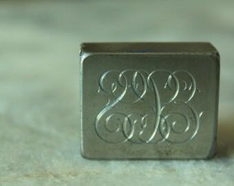Vintage Engraving Block, ECS