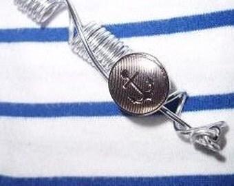 Anchor locs jewelry