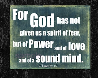 Image result for scriptures about fear