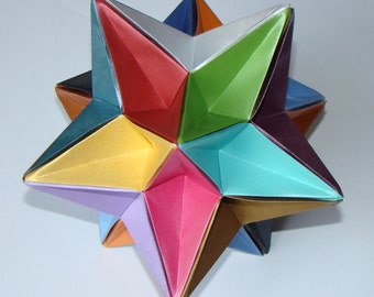 Origami Eighth Stellation of the Icosahedron