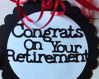 Popular items for retirement party on Etsy