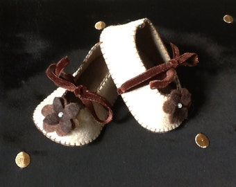 Mary Jane baby girl shoes