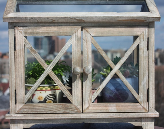 ... Tabletop Greenhouse Clean Crispy Nantucket Styled Tabletop Greenhouse  Terrarium ...