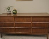 Items Similar To Dixie Furniture 9 Drawer Mid Century