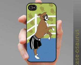 The Boxer - Boxer Dog iPhone Case for iPhone 6, iPhone 5/5s or iPhone 4/4s, Samsung Galaxy S6, Galaxy S5, Galaxy S4, Galaxy S3