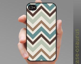 "iPhone Case - Chevron ""Tasman Derby"" for iPhone 6, iPhone 5/5s or iPhone 4/4s, Samsung Galaxy S6, Galaxy S5, Galaxy S4, Galaxy S3"