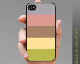 "iPhone Case - ""Five Stripe Medley"" for iPhone 6, iPhone 5/5s or iPhone 4/4s, Samsung Galaxy S6, Galaxy S5, Galaxy S4, Galaxy S3"