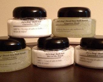 Dead Sea Salt Scrub or Relaxing Bath Salts