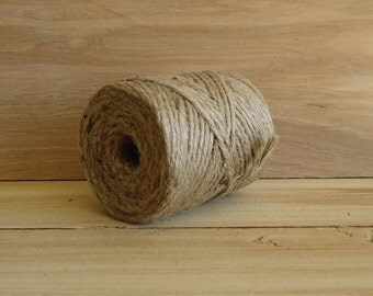 Jute twine, jute, jute string, natural jute, hemp twine, hemp string, craft supply, wrapping supply
