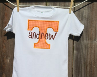 Personalized University of Tennessee Power T Shirt