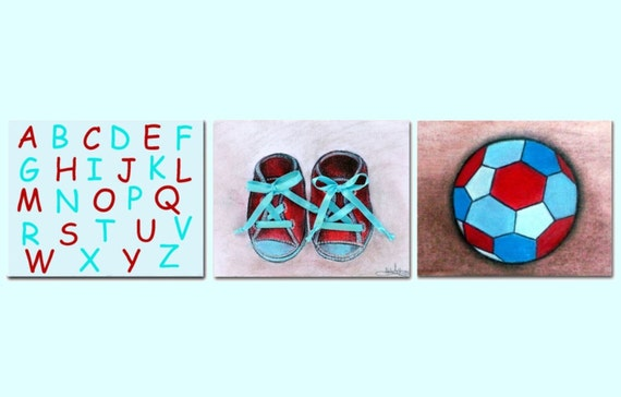 Image Result For Baby Boy Nursery Wall Decora