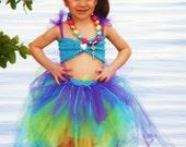 Mermaid 3-piece Costume Tutu Set