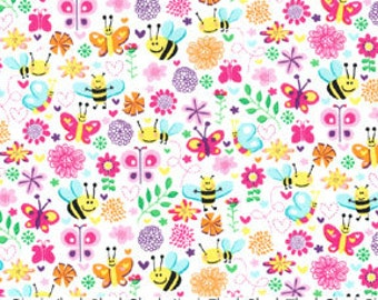 Busy Bee from Michael Miller Fabrics Half Yard Cut