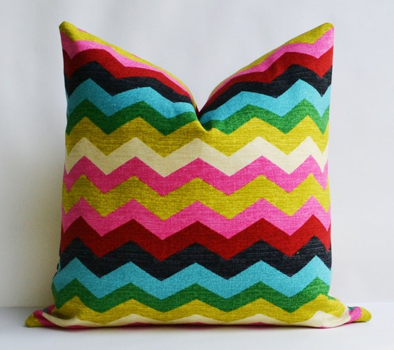 Decorative pillow 18x18 accent Pillow with multi