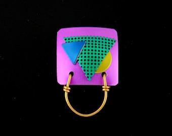 Jewel Tone Colors Anodized Aluminum Magnetic Eyeglass Holder and Lanyard