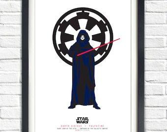 Star Wars - Solo Series - Palpatine - Darth Sidious - 19x13 Poster