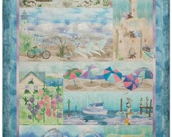 McKenna Ryan Quilt Pattern Beach Walk 9 Pattern Set Free US Shipping DIY Birds