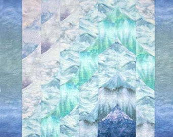 Glacier Quilt Pattern Lisa Moore Mountain Peaks to Make
