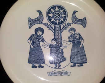 Old Dutch Folkcloric Breakfast Plates