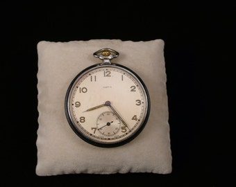 """Swiss """"ARTA""""  pocket watches white dial rare 1930-1940 VERY Very GOOD condition"""