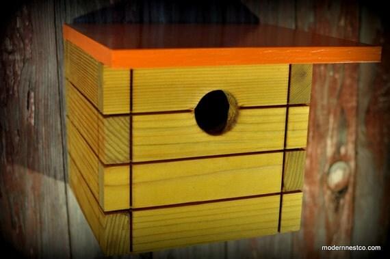 Modern Bird House - Tree Swallow No. 3  FREE SHIPPING
