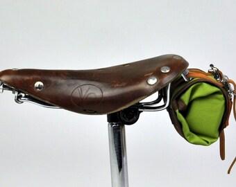 Medium Bike Tool Roll-- Wood Nypmh-- ready to fill