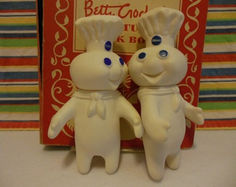 PILLSBURY DOUGHBOY Figurine * Ghost Busters * Vintage Kitchen Decor * Baking * Poppin Fresh