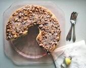 1950s Coffee Cake - Handmade Card with Heirloom Recipe