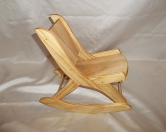 """Rocking Chair for The American Girl Doll and All 18"""" Dolls"""
