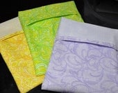 Reusable sandwich bags/snack bags