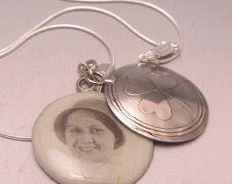 Photo Pendant Necklace