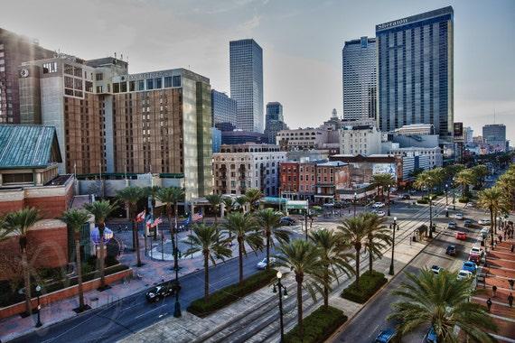 Fine Art Photography, Canal Street, New Orleans Louisiana