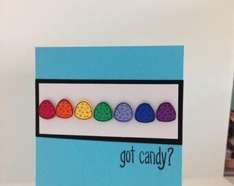 Got Candy Card