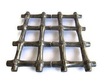 On Sale! New Year Discount FB Rogers Adjustable Bamboo Trivet Made in Italy