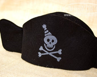 Pirate Party Party Hats- Set of 10