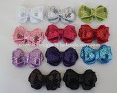 """2"""" SEQUIN BUTTERFLY BOW"""