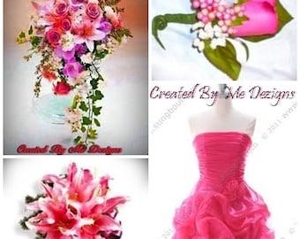 Custom designed Wedding Flower packages..