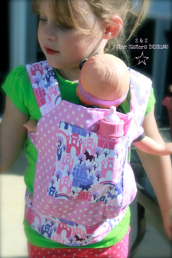 Just Like Mommy Baby Doll Carrier For Kids In Pink Amp Purple